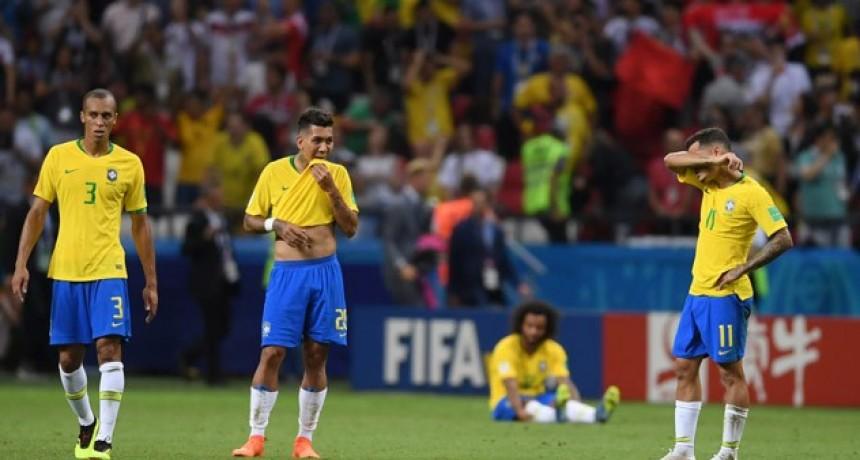 Otro gigante afuera del Mundial: Bélgica eliminó a Brasil y pasó a semifinales
