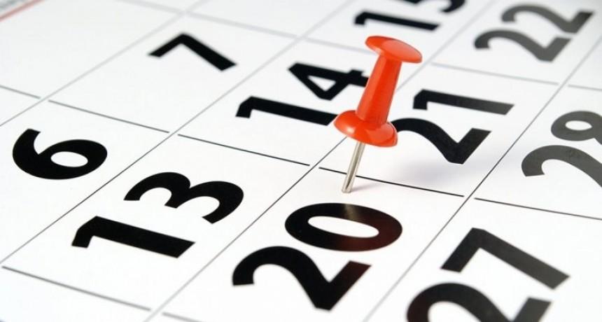 ¿Cuándo es el próximo fin de semana largo?