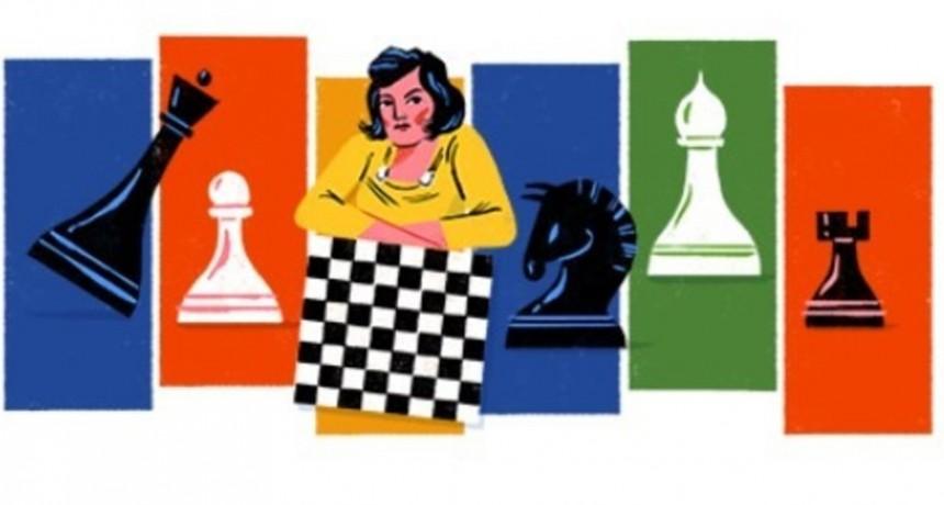 Doodle del día: Lyudmila Rudenko, la campeona de ajedrez que marcó una época