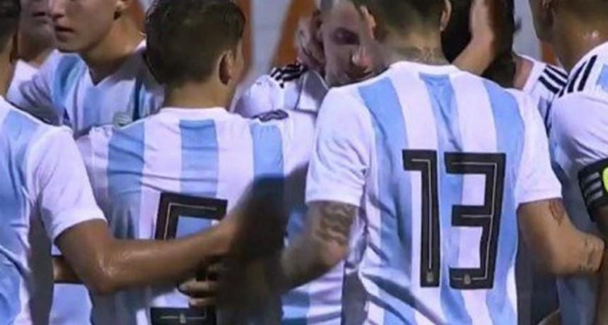 La selección argentina goleó 4-0 a Venezuela, en su estreno en el torneo Sub 20 de L'Alcudia
