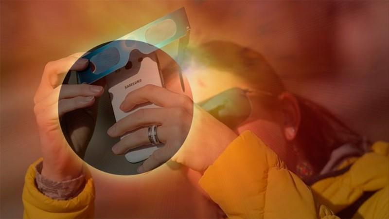 Sacar fotos directas del eclipse puede dañar la cámara: Los recaudos a tomar