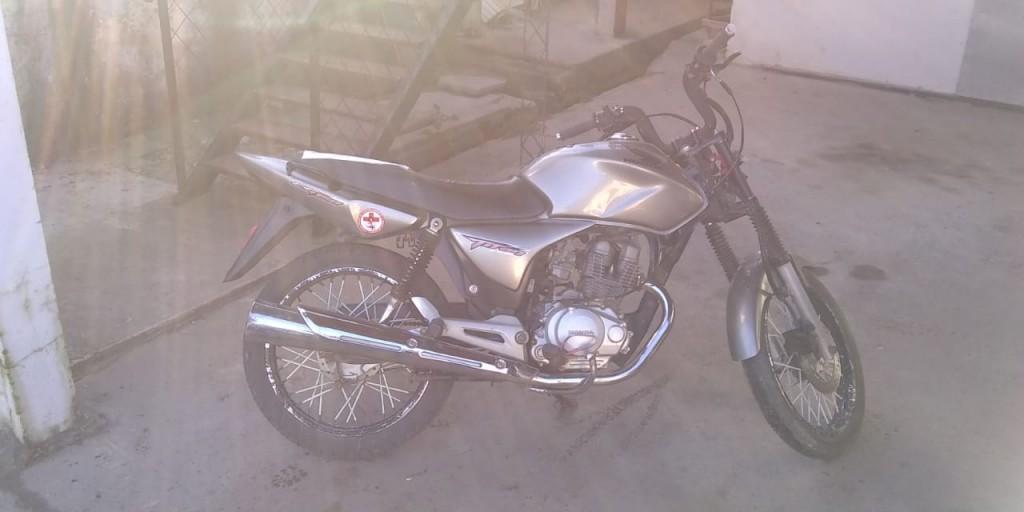 Secuestro de moto que había sido retenida y sustraída del predio municipal