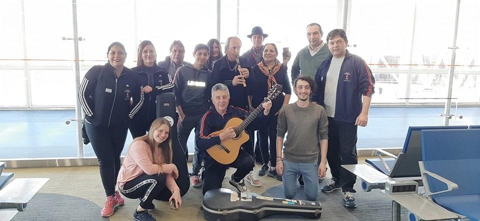 Federalenses participan de la Delegación artística Argentina  que se encuentra en Portugal