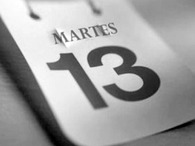 En agosto será el único martes 13 del año