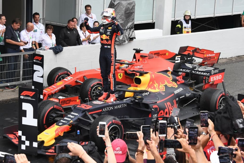 Max Verstappen ganó una carrera inolvidable en Alemania y Sebastian Vettel protagonizó la remontada del año