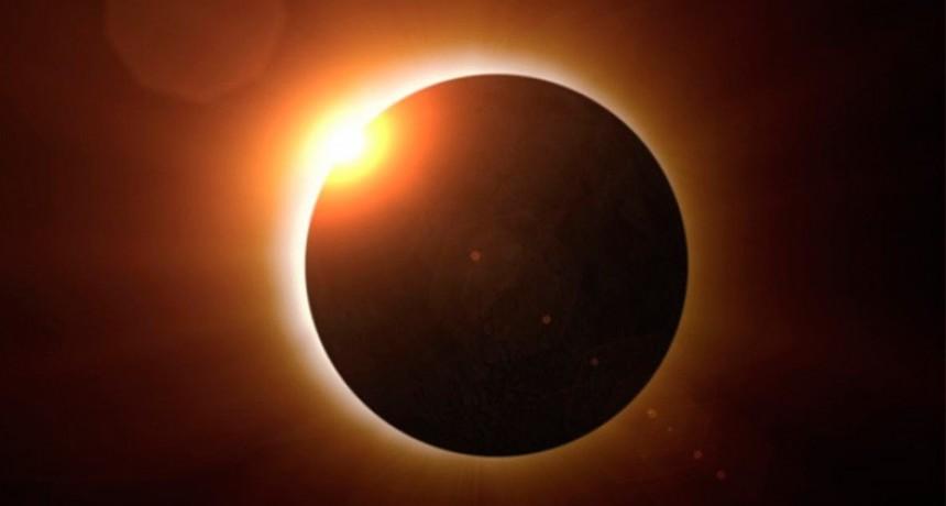 Falta un día para el eclipse: Claves para verlo en Entre Ríos y otros detalles