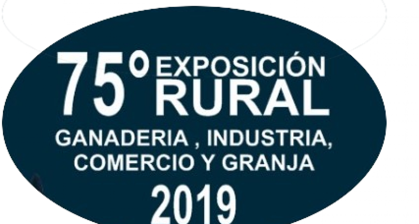 16,17 y 18 de agosto es la 75 Exposición de Ganadería,Granja , Industria y Comercio de Federal