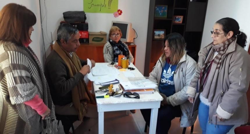 La Dirección de Discapacidad de Federal realizo operativos en C. Bernardi