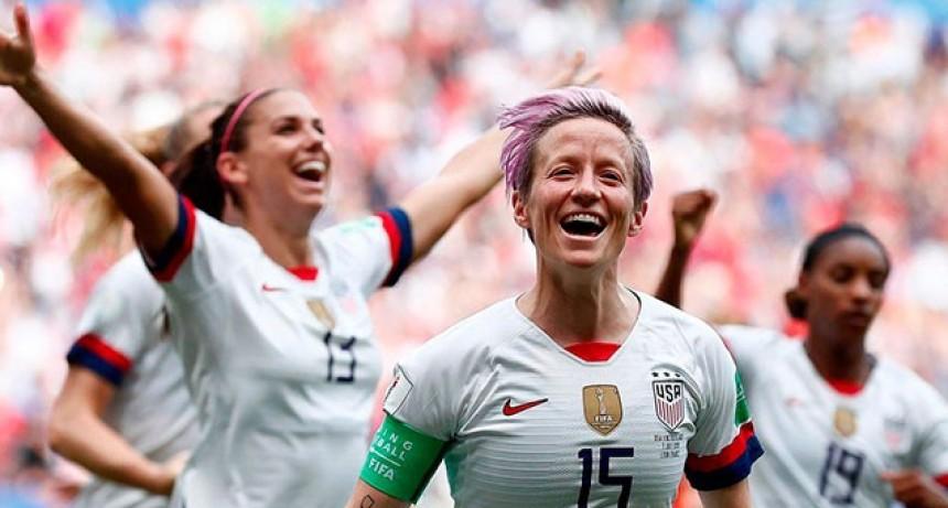 Estados Unidos superó a Holanda y son bicampeonas del Mundial Femenino de Fútbol