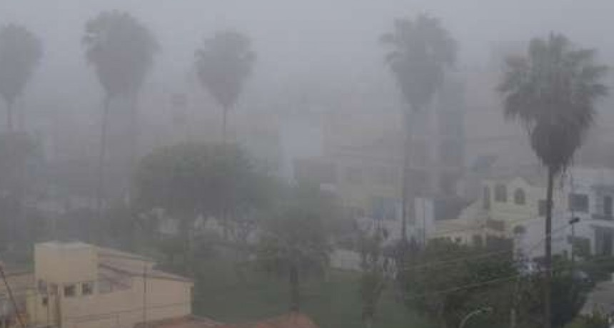 La humedad y la neblina vuelven a la escena después de la intensa ola polar
