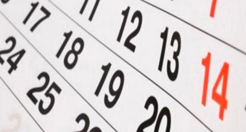 Los feriados que quedan en 2019: El detalle de los fines de semana largos