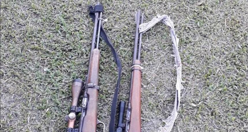 En Nueva Vizcaya secuestran dos armas de fuego sin documentación