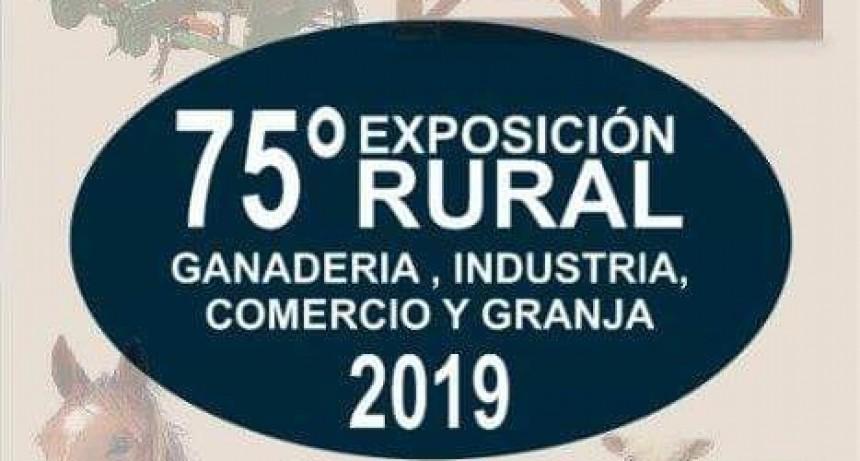 Se vienen las Bodas de Diamante de la Expo Rural de Federal