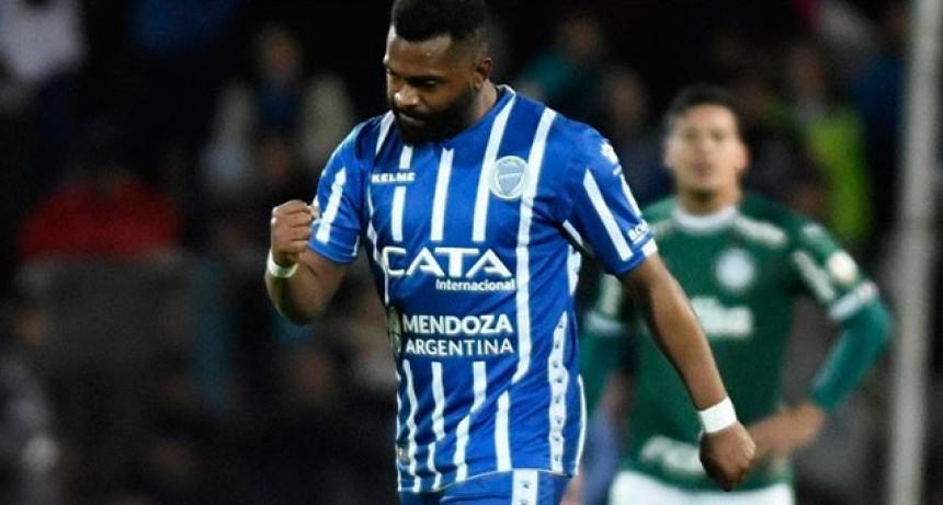 Copa Libertadores: Godoy Cruz vencía por dos goles pero igualó con Palmeiras