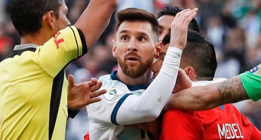 Sanción mínima para Messi: lo suspendieron una fecha, con una multa de 1500 dólares