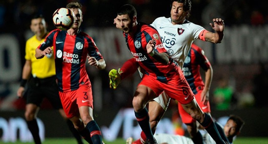 San Lorenzo no pudo con Cerro Porteño y empató como local por la Libertadores