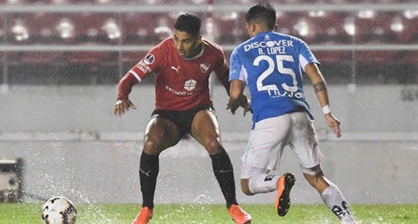 En el debut de Beccacece, Independiente ganó por la Copa Sudamericana