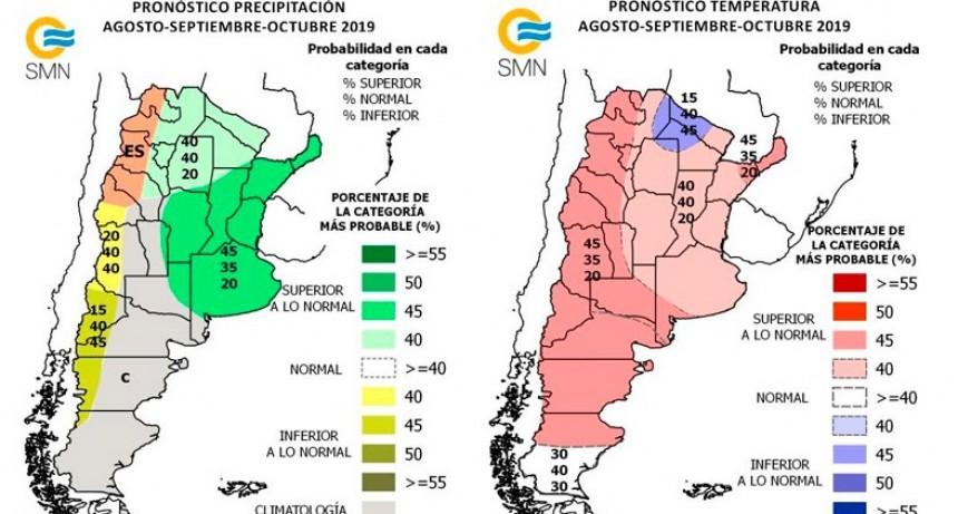 Pronostican más lluvias que las habituales durante los próximos meses