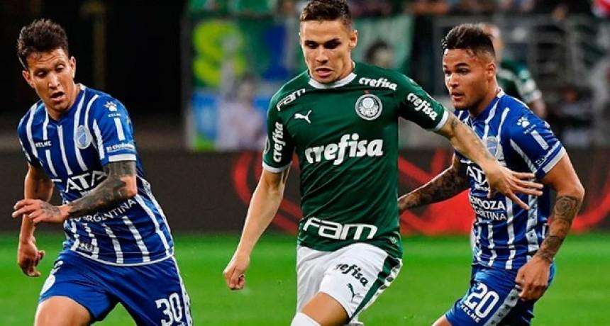 Godoy Cruz fue goleado por Palmeiras y se despidió de la Libertadores