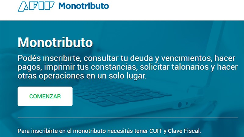Facilitan acceso a créditos a tasa cero para monotributistas y autónomos