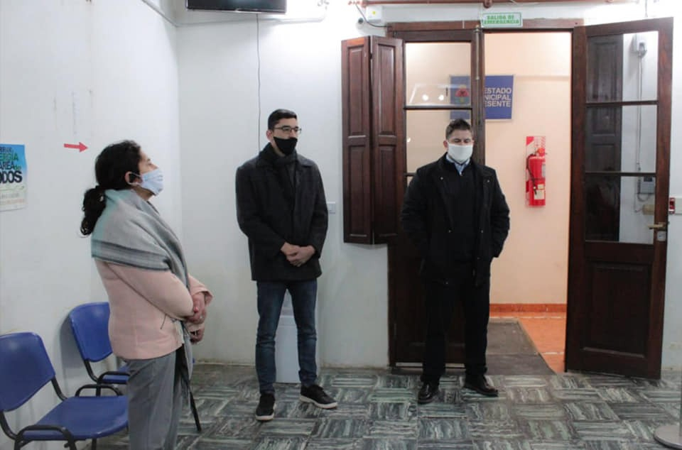 El Intendente de Feliciano destaco el compromiso de los empleados en esta pandemia