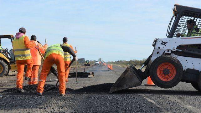 Ruta Nacional 127: obras en marcha en esta vía del Mercosur