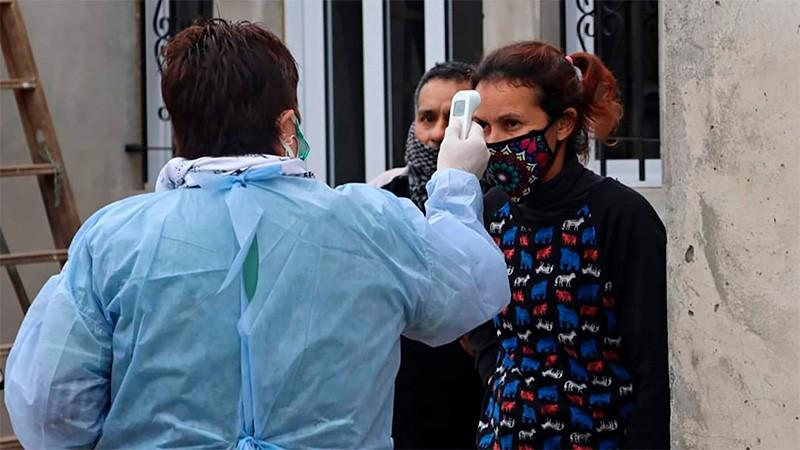 Confirmaron 3223 nuevos casos de coronavirus y 42 muertes en 24 horas