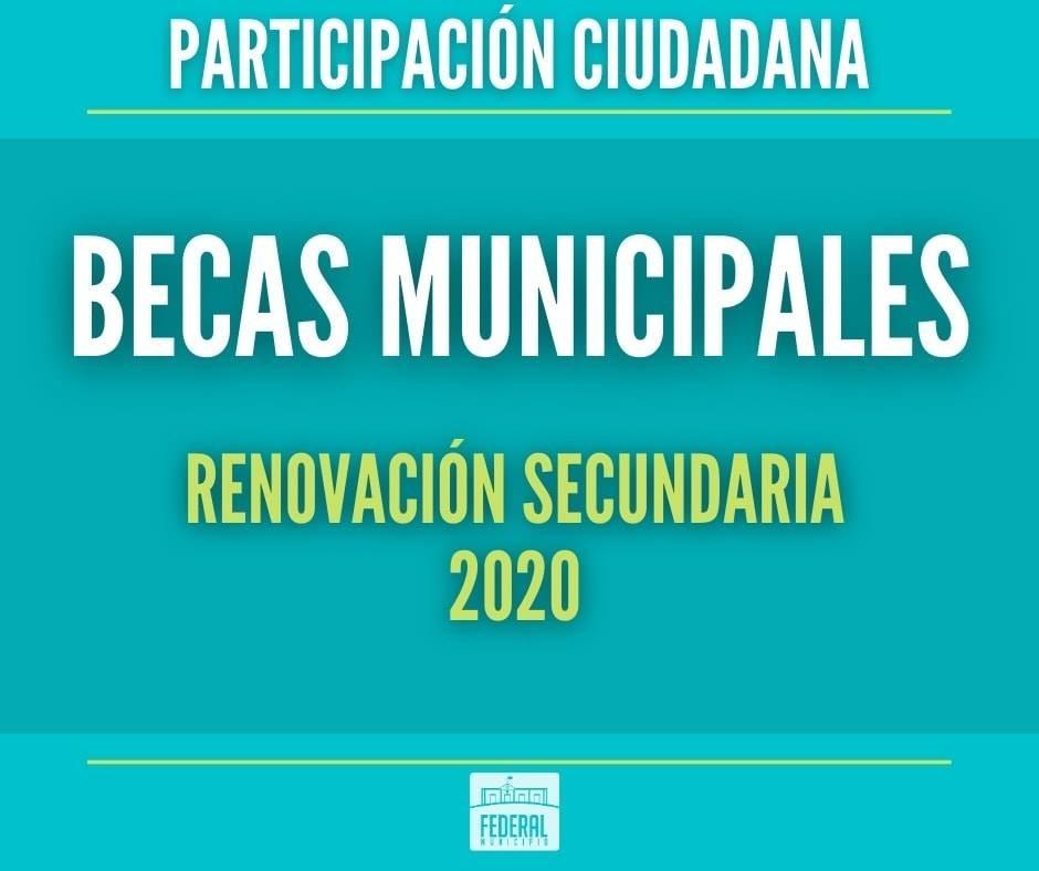Este lunes se  inicia el cronograma de pagos de Beca Municipal