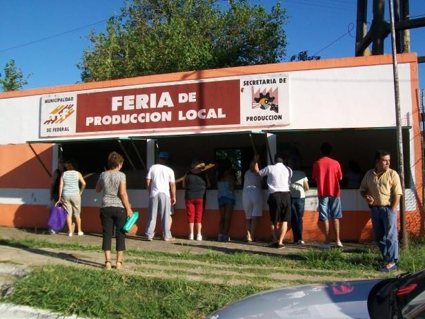 REAPERTURA DE LA FERIA DE PRODUCCIÓN LOCAL