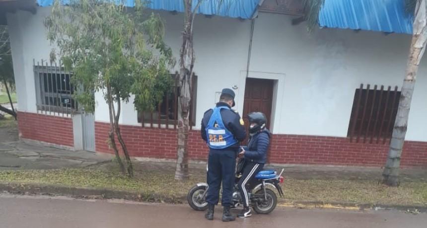Operativos de prevención en el ámbito de la ciudad de Federal y en zonas de barrios