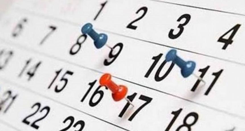 Cómo será el feriado que viene