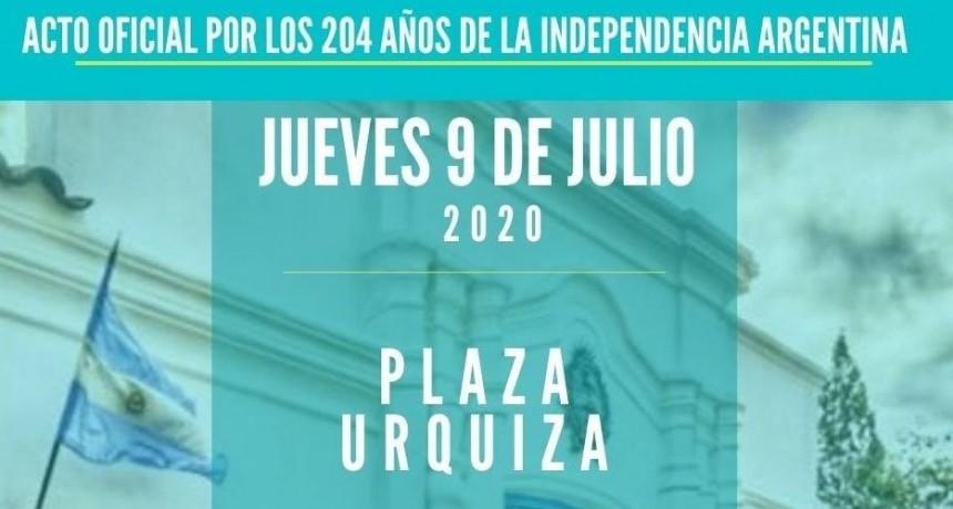 Acto Oficial | 204 años de la Independencia Argentina