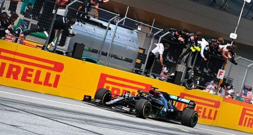 Fórmula 1: Hamilton se quedó con la victoria en el Gran Premio de Estiria
