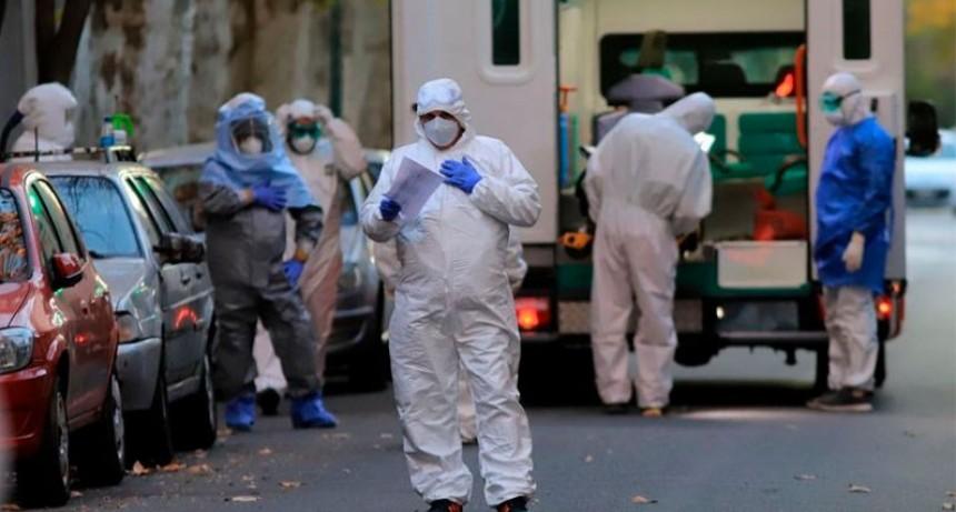 La OMS confirmó nuevo récord diario de contagios de coronavirus
