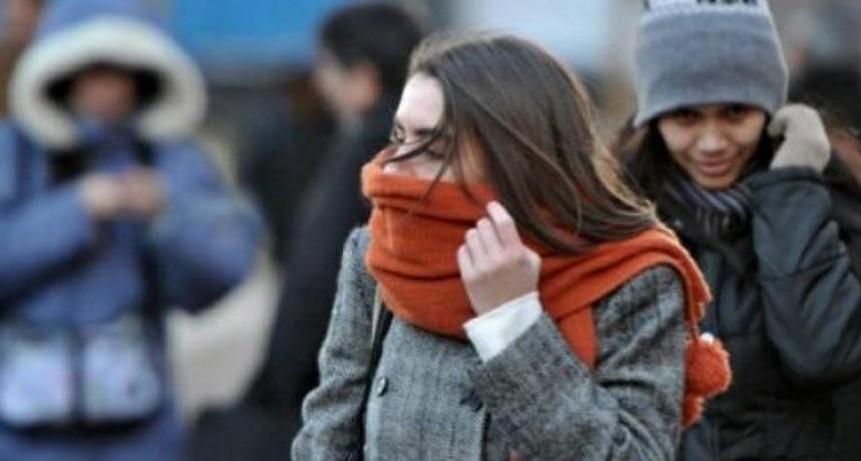 Pronostican tres días de intenso frío y luego llegarían jornadas de