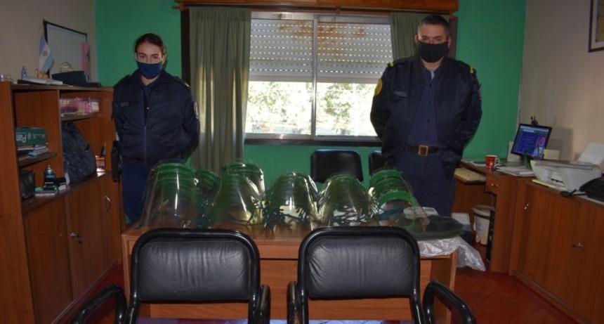 Donación de 100 mascaras faciales de la Fundación  Garrahan
