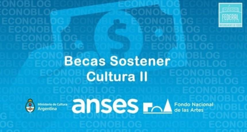 "BECAS ""SOSTENER CULTURA II"""