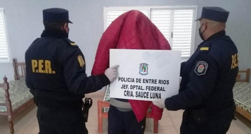 Prisión preventiva del imputado por robo en Sauce de Luna