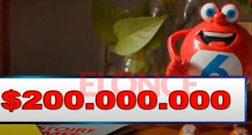 Los pozos del Quini 6 vacantes: El domingo habrá $200 millones en juego