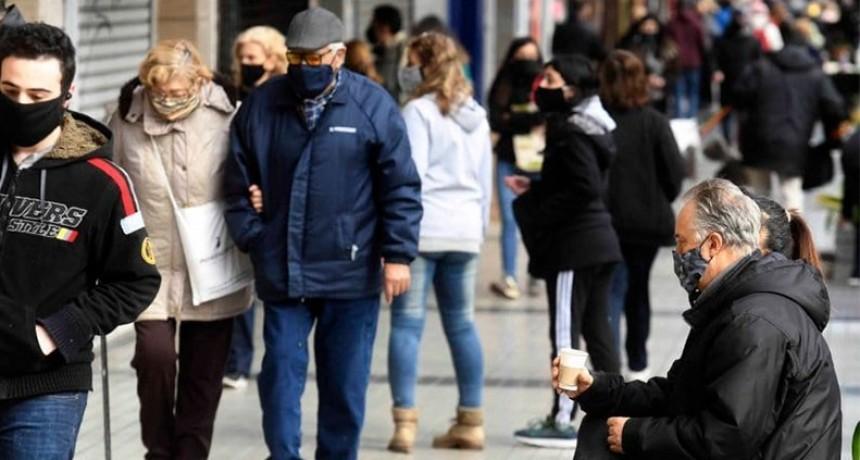 Coronavirus en Argentina: Confirmaron 105 muertes y 5.493 nuevos contagios