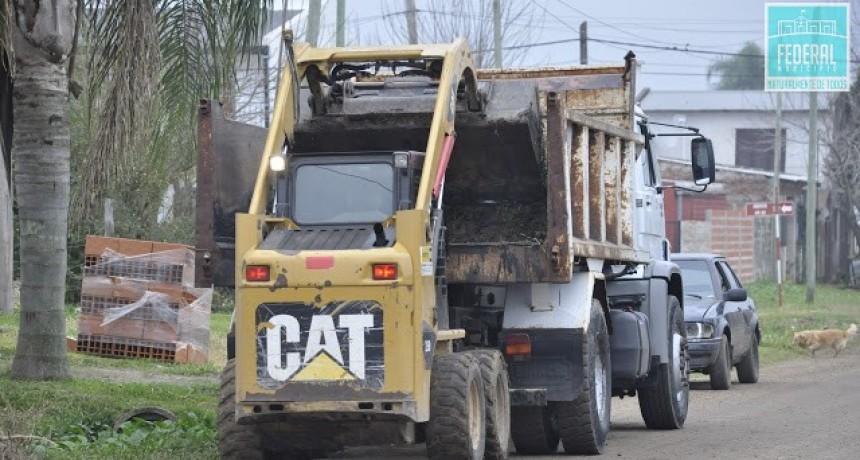 Mejoramiento en el sistema de cunetas del Barrio Defensores del Sur