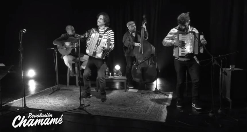 El federalense Tony Marquez junto artistas Rosarinos realizaron su primer streaming chamamecero,