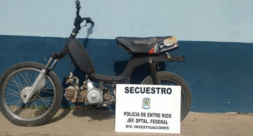 Secuestran moto con el motor 110 adulterado