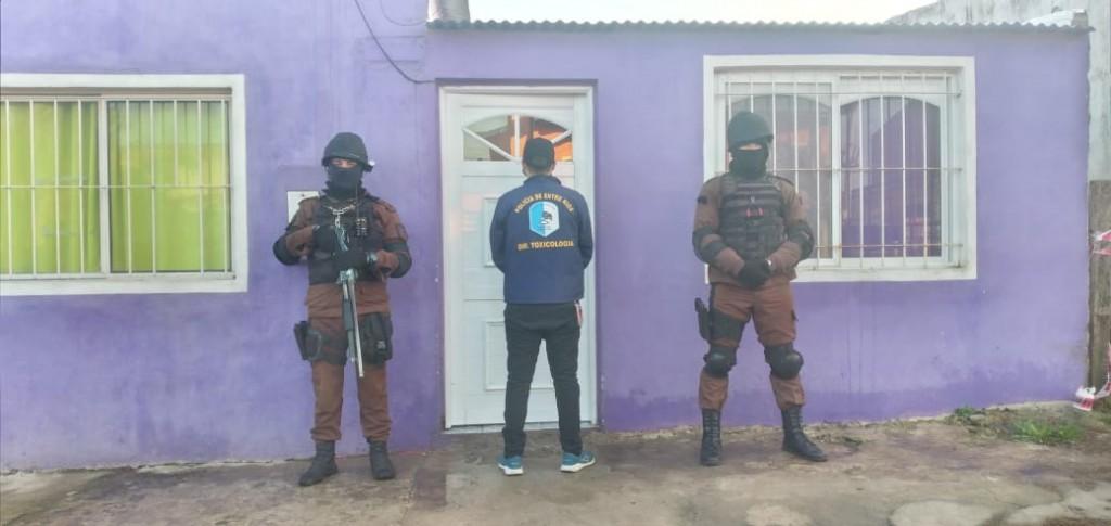 Personal policial de Federal participo de operativos en la Ciudad de La Paz
