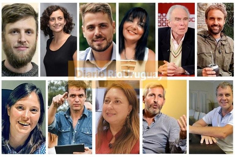 Los precandidatos que conformarán la propuesta de las PASO en Entre Ríos