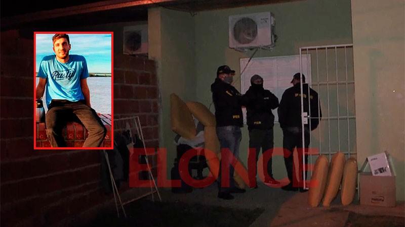 Caso Calleja: secuestraron dinero en pesos y dólares, armas de fuego y droga