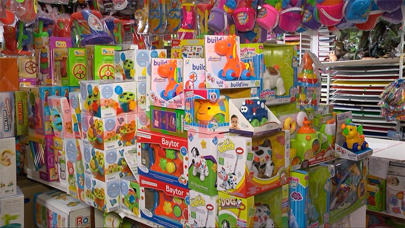 La venta de juguetes crece a niveles