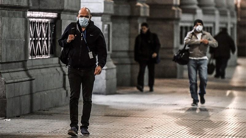 Reportaron 291 muertes por coronavirus y 14.115 nuevos contagios en el país
