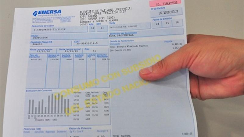 Congelan el valor de la tarifa eléctrica hasta fines de octubre