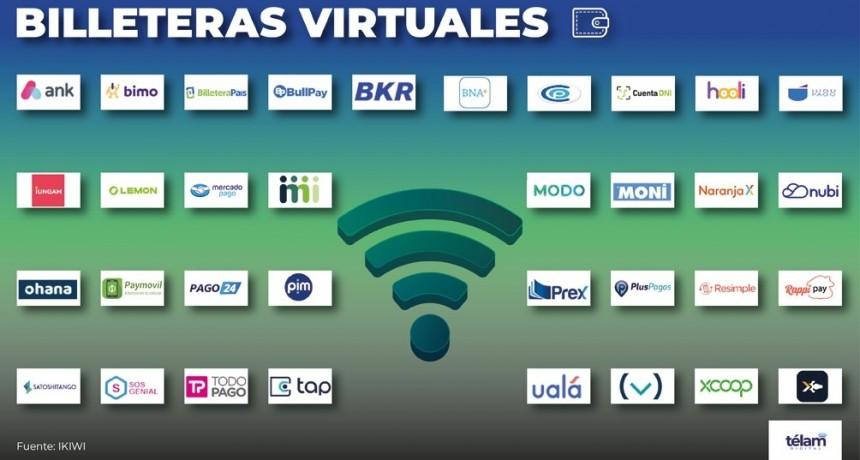 Pagos digitales: 34 billeteras virtuales se disputan el mercado en la Argentina
